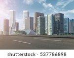 hangzhou cbd | Shutterstock . vector #537786898