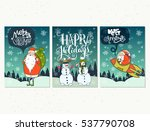 collection of handdrawn... | Shutterstock .eps vector #537790708