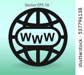 www web vector illustration | Shutterstock .eps vector #537796138