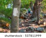 Appalachian Trail Blaze With...