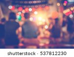 background blurred bokeh.... | Shutterstock . vector #537812230