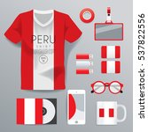 peru   national corporate... | Shutterstock .eps vector #537822556