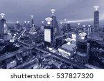 thailand wifi network... | Shutterstock . vector #537827320