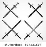 Swords Set.  European Straight...