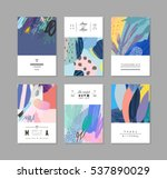 collection of creative... | Shutterstock .eps vector #537890029