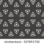 geometric shape abstract vector ... | Shutterstock .eps vector #537891730