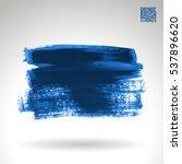 brush stroke and texture.... | Shutterstock .eps vector #537896620