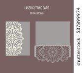 diy laser cutting vector...   Shutterstock .eps vector #537899974