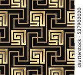 seamless pattern meander...   Shutterstock .eps vector #537902020