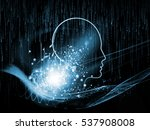 mind connection series.... | Shutterstock . vector #537908008