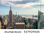 new york city   july 16 2016 ... | Shutterstock . vector #537929434