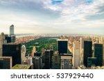 new york city   july 16 2016 ... | Shutterstock . vector #537929440