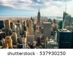 new york city   july 16 2016 ... | Shutterstock . vector #537930250