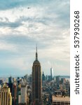 new york city   july 16 2016 ... | Shutterstock . vector #537930268