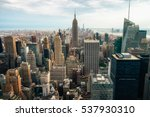 new york city   july 16 2016 ... | Shutterstock . vector #537930310
