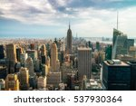 new york city   july 16 2016 ... | Shutterstock . vector #537930364
