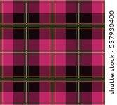 plaid tartan seamless pattern... | Shutterstock .eps vector #537930400