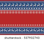 merry christmas and new year... | Shutterstock .eps vector #537932743