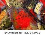 abstract art background. oil... | Shutterstock . vector #537942919