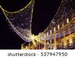 the amazing christmas... | Shutterstock . vector #537947950