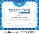 vector modern light blue... | Shutterstock .eps vector #537956323