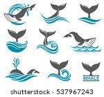 collection with abstract... | Shutterstock .eps vector #537967243