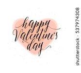 vector illustration of happy... | Shutterstock .eps vector #537974308