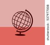globe vector icon. | Shutterstock .eps vector #537977008