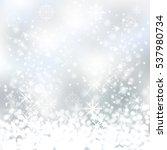 winter sparkles falling snow....   Shutterstock .eps vector #537980734