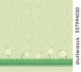 abstract green mosaic...   Shutterstock . vector #537994030