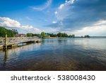 Lake Norman, at Ramsey Creek Park, in Cornelius, North Carolina.