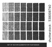 set drawing gradient texture... | Shutterstock .eps vector #538008760