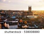 kilkenny  ireland. aerial view... | Shutterstock . vector #538008880