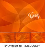 curvy abstract background.... | Shutterstock .eps vector #538020694