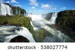The Iguazu Falls Are Waterfall...
