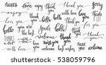 lettering photography overlay... | Shutterstock .eps vector #538059796