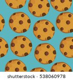 vector illustration of seamless ... | Shutterstock .eps vector #538060978