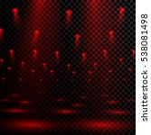 scene illumination. red light... | Shutterstock .eps vector #538081498