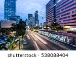traffic  captured with long... | Shutterstock . vector #538088404