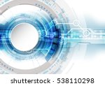 abstract future technology... | Shutterstock .eps vector #538110298