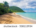 Great Beach Of Grand Anse Near...