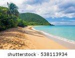 Great Beach Of Grand Anse Near...