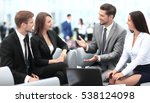 business team discussing... | Shutterstock . vector #538124098