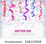 happy new year festive... | Shutterstock .eps vector #538129858