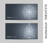 set of horizontal banners.... | Shutterstock .eps vector #538147270