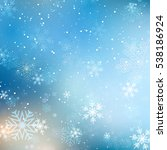 christmas background with...   Shutterstock .eps vector #538186924