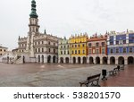 Colourful Tenement Houses And...