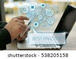 best practice  business concept | Shutterstock . vector #538205158