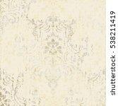 vector illustration. damask... | Shutterstock .eps vector #538211419