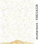 golden confetti   Shutterstock .eps vector #538216228